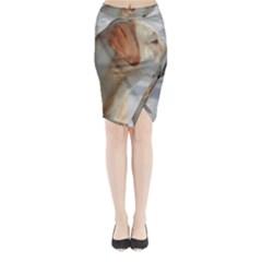4 Yl Midi Wrap Pencil Skirt by TailWags