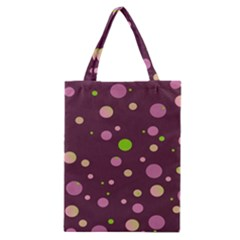 Decorative Dots Pattern Classic Tote Bag by ValentinaDesign