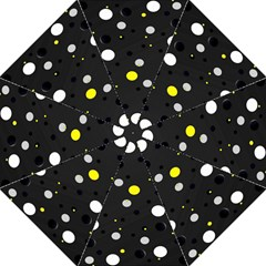 Decorative Dots Pattern Straight Umbrellas by ValentinaDesign