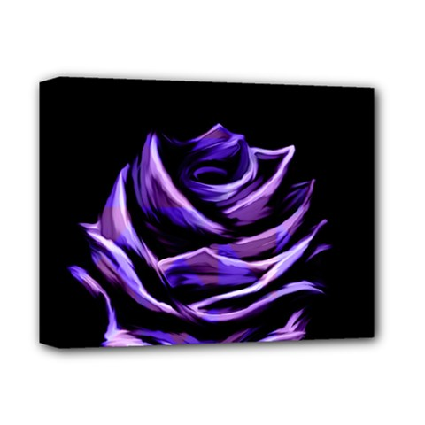 Rose Flower Design Nature Blossom Deluxe Canvas 14  X 11  by Nexatart