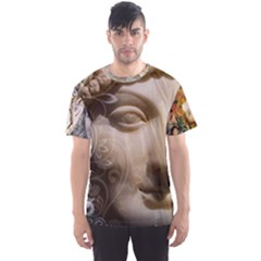 seeking The Goddess    Men s Sport Mesh Tee by livingbrushlifestyle