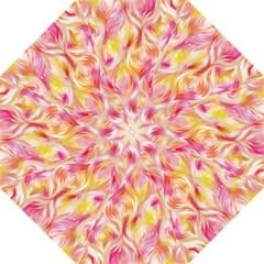 Pretty Painted Pattern Pastel Straight Umbrellas by Nexatart