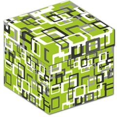Pattern Abstract Form Four Corner Storage Stool 12   by Nexatart