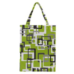 Pattern Abstract Form Four Corner Classic Tote Bag by Nexatart