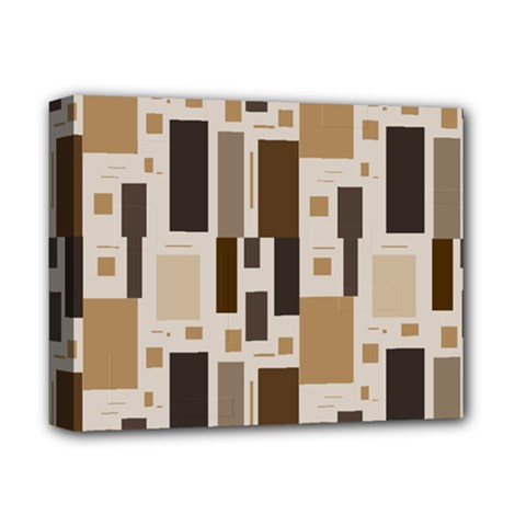 Pattern Wallpaper Patterns Abstract Deluxe Canvas 14  X 11  by Nexatart