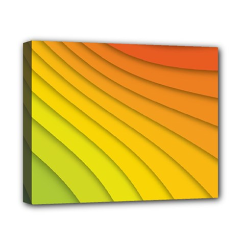 Abstract Pattern Lines Wave Canvas 10  X 8  by Nexatart