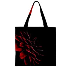 Pattern Design Abstract Background Zipper Grocery Tote Bag by Nexatart
