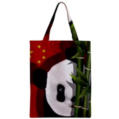 Panda Classic Tote Bag by Valentinaart
