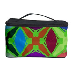 Abstract Pattern Background Design Cosmetic Storage Case by Nexatart