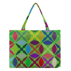 Abstract Pattern Background Design Medium Tote Bag by Nexatart