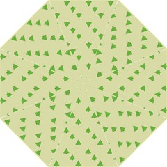 Christmas Wrapping Paper Pattern Straight Umbrellas by Nexatart