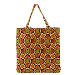 Geometry Shape Retro Trendy Symbol Grocery Tote Bag by Nexatart