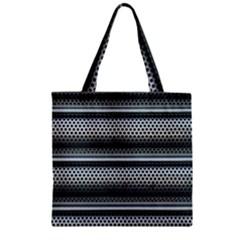 Sheet Holes Roller Shutter Zipper Grocery Tote Bag by Nexatart