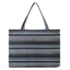Sheet Holes Roller Shutter Medium Zipper Tote Bag by Nexatart