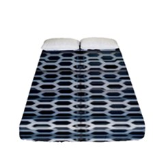 Texture Pattern Metal Fitted Sheet (full/ Double Size)