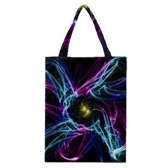 Abstract Art Color Design Lines Classic Tote Bag by Nexatart