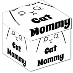 Love My Cat Mommy Storage Stool 12   by Catifornia