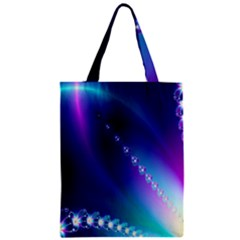 Flow Blue Pink High Definition Classic Tote Bag by Mariart