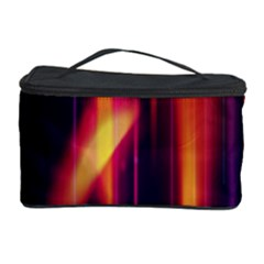 Perfection Graphic Colorful Lines Cosmetic Storage Case by Mariart