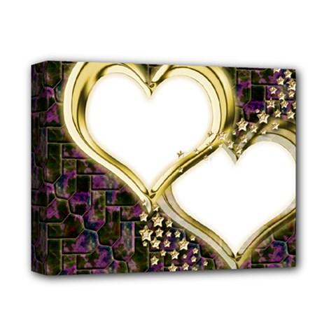 Lover Romantic Couple Apart Deluxe Canvas 14  X 11  by Nexatart