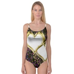 Lover Romantic Couple Apart Camisole Leotard  by Nexatart