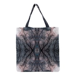 Storm Nature Clouds Landscape Tree Grocery Tote Bag by Nexatart