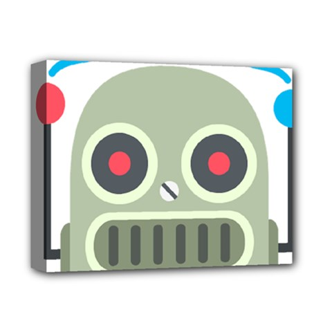 Robot Deluxe Canvas 14  X 11  by BestEmojis