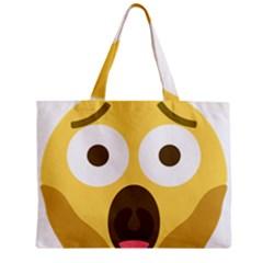 Scream Emoji Mini Tote Bag by BestEmojis