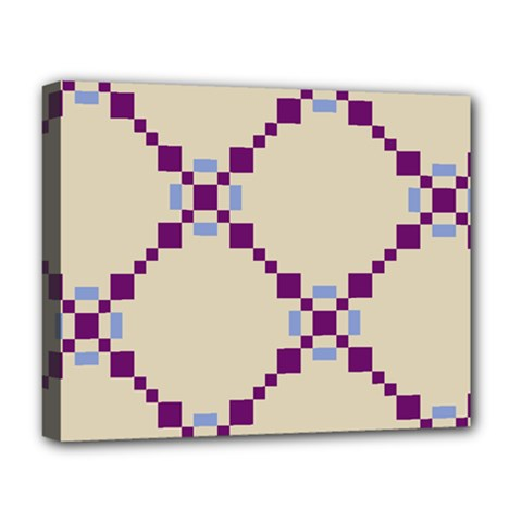 Pattern Background Vector Seamless Deluxe Canvas 20  X 16   by Nexatart