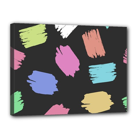 Many Colors Pattern Seamless Canvas 16  X 12  by Nexatart