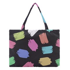 Many Colors Pattern Seamless Medium Tote Bag by Nexatart