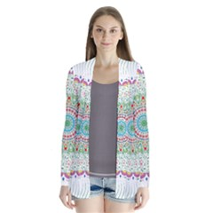 Flower Abstract Floral Cardigans by Nexatart