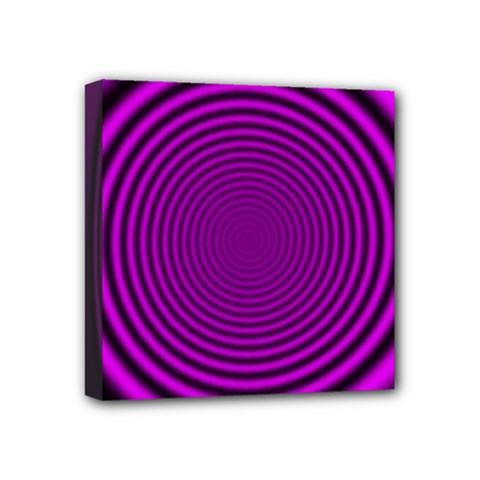 Background Coloring Circle Colors Mini Canvas 4  X 4  by Nexatart