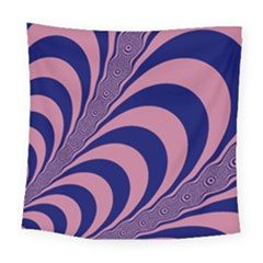 Fractals Vector Background Square Tapestry (large) by Nexatart