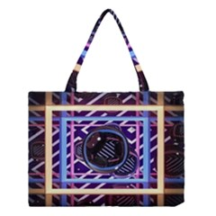 Abstract Sphere Room 3d Design Medium Tote Bag by Nexatart