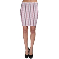 Motif Pattern Decor Backround Bodycon Skirt