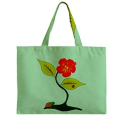 Plant And Flower Mini Tote Bag by linceazul