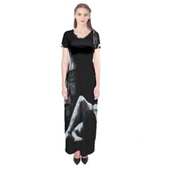 The Ring Short Sleeve Maxi Dress by Valentinaart