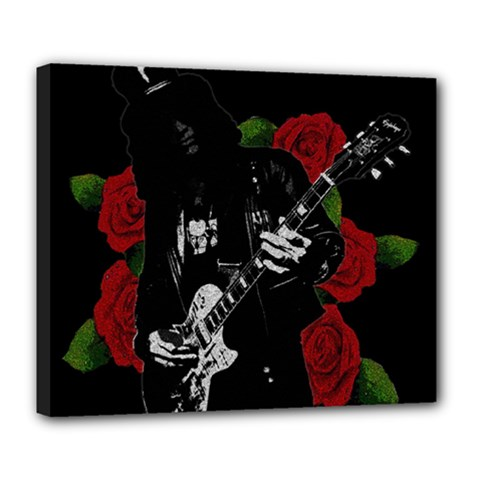 Slash Deluxe Canvas 24  X 20   by Valentinaart