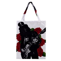 Slash Classic Tote Bag by Valentinaart