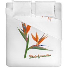 Bird Of Paradise Duvet Cover Double Side (california King Size) by Valentinaart