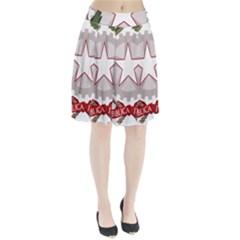 Emblem Of Italy Pleated Skirt by abbeyz71