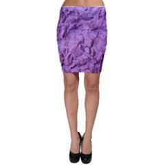 Purple Wall Background Bodycon Skirt by Costasonlineshop