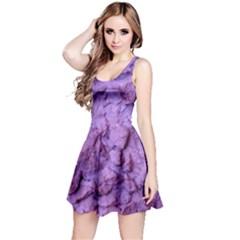 Purple Wall Background Reversible Sleeveless Dress by Costasonlineshop