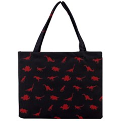 Dinosaurs Pattern Mini Tote Bag by ValentinaDesign