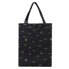 Cactus Pattern Classic Tote Bag by ValentinaDesign