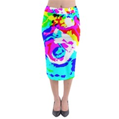 Abstract Art Midi Pencil Skirt by ValentinaDesign