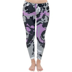 Abstract Art Classic Winter Leggings by ValentinaDesign