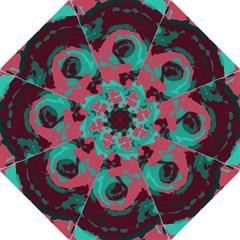 Abstract Art Hook Handle Umbrellas (medium) by ValentinaDesign