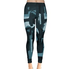 Abstract Art Leggings  by ValentinaDesign